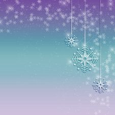 Snowflake Ornament Background Royalty Free Stock Photo