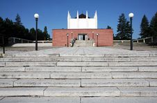 Free Building Of Crematorium Royalty Free Stock Photo - 15485265