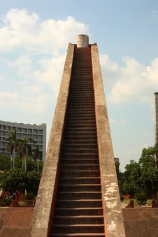 Free Staircase Structure At Jantar Mantar, New Delhi Stock Photo - 15485370