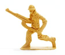 Free Toy Soldier Figure. Royalty Free Stock Images - 15485649