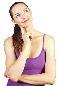 Free Beautiful Thoughtful Young Woman Stock Photo - 15485660
