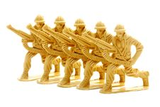 Free Toy Soldier Figure. Royalty Free Stock Image - 15485756