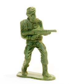 Free Toy Soldier Figure. Stock Photos - 15485823