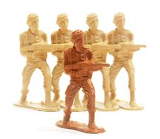Free Toy Soldier Figure. Stock Image - 15485991