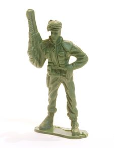 Free Toy Soldier Figure. Royalty Free Stock Photos - 15486098
