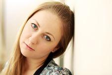 Free Portrait Of Beautiful Woman Stock Image - 15486231