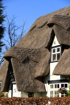 Thatched Roof 1 Royalty Free Stock Image