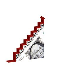 Dollar Recovery Stock Photo