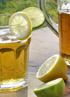 Refreshing Summer Drink Stock Photo