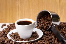 Free Cup Of Coffee Royalty Free Stock Photography - 15487967