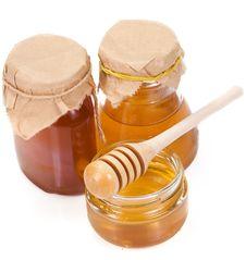 Free Glass Of Honey Royalty Free Stock Image - 15488046