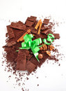 Free Chocolate And Bow Stock Image - 15491511