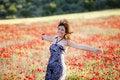 Free Happy Run On Field Royalty Free Stock Photo - 15498145