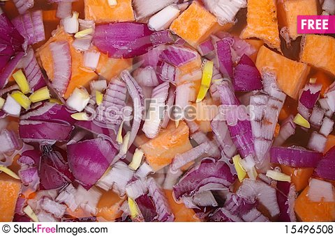 Free Soup Cooking Royalty Free Stock Photos - 15496508