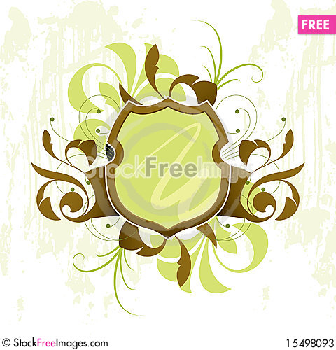 Free Banner With Design Elements Stock Photos - 15498093