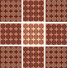 Free Seamless Wallpaper With Flower Ornamentation Stock Photography - 15490152