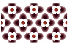Free Seamless Wallpaper With Flower Ornamentation Stock Image - 15490351