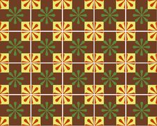 Brown Mosaic Tiles Royalty Free Stock Images