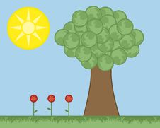 Free Tree Landscape Stock Image - 15491191
