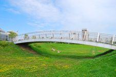 Free The Metal Foot Bridge Royalty Free Stock Photo - 15491325