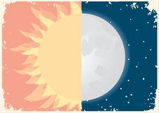 Sun And Moon Stock Photos