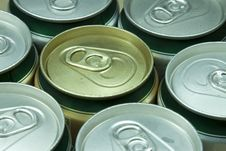 Free Many Cans Of Beer Royalty Free Stock Photo - 15491575