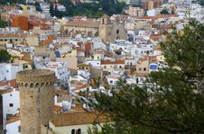 Free Landscape Of Tossa De Mar Stock Photo - 15491660
