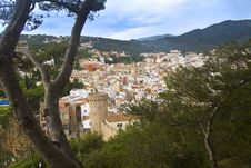 Free Landscape Of Tossa De Mar Royalty Free Stock Image - 15491666