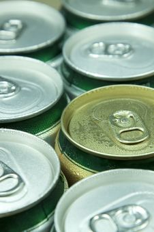 Free Many Cans Of Beer Royalty Free Stock Photography - 15492207