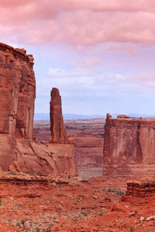 Free Arches National Park Royalty Free Stock Photos - 15492488