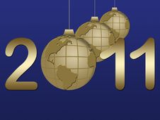 Free New Year Background Royalty Free Stock Photo - 15492515