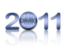 Free New Year Background Royalty Free Stock Photos - 15492518
