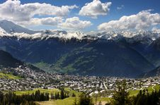 Verbier, Switzerland Stock Image