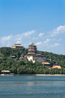 Free Summer Palace In Beijing, China. Royalty Free Stock Image - 15493086
