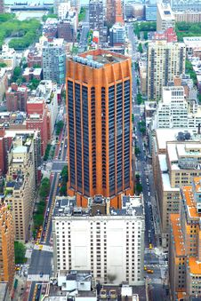Free Eye Of Manhattan Royalty Free Stock Photos - 15493168