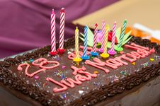 Free Marriage And Birthday Cake Stock Image - 15495091