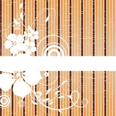 Free Floral Abstract Banner Stock Photos - 15495543