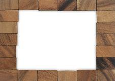 Free Wood Blocks Stock Image - 15496011