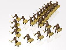 Free Warriors Stock Image - 15498041