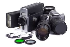 Free Old And New Camera Stock Images - 15498254
