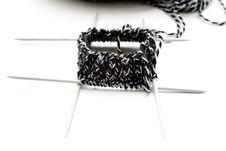Free Wool With Knitting Needles Stock Photo - 15498820