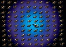 Free Bat Pattern Royalty Free Stock Image - 15499046