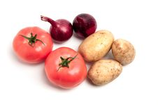 Free Collection Of Vegetables Stock Photography - 15499062
