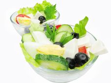 Free Greek Salad Royalty Free Stock Images - 15499249