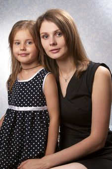 Free Mother And Daughter Royalty Free Stock Photography - 15499647