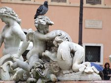 Free Italy-Roma - Creative Commons By Gnuckx Royalty Free Stock Image - 154962816