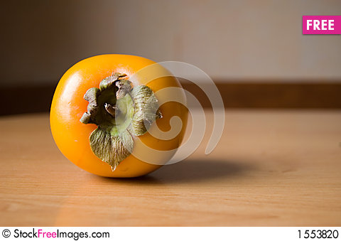 Sweet persimmon Stock Photo
