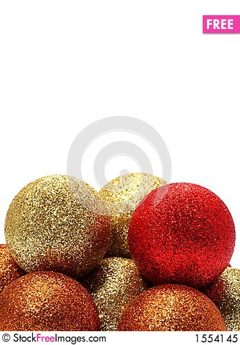 Vertical christmas balls free stock photos images