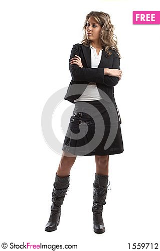 Free Great Looking Business Woman Stock Photography - 1559712