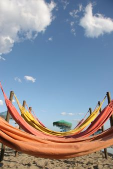 Hammocks Stock Photo